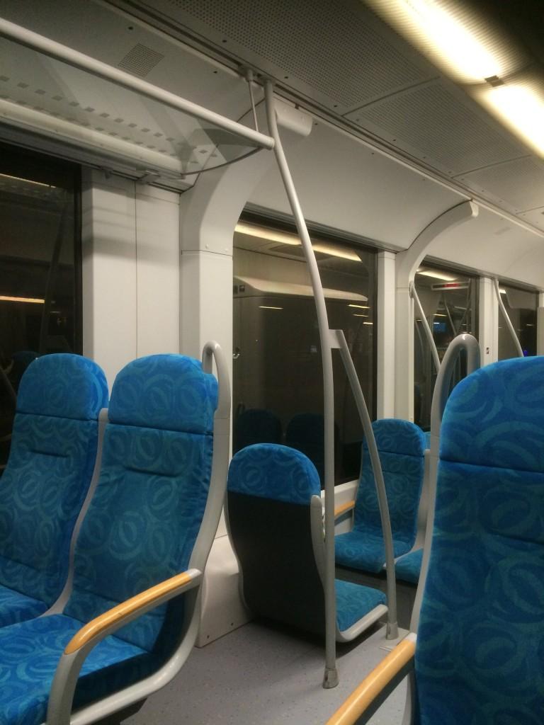 2016 Alstom train interior