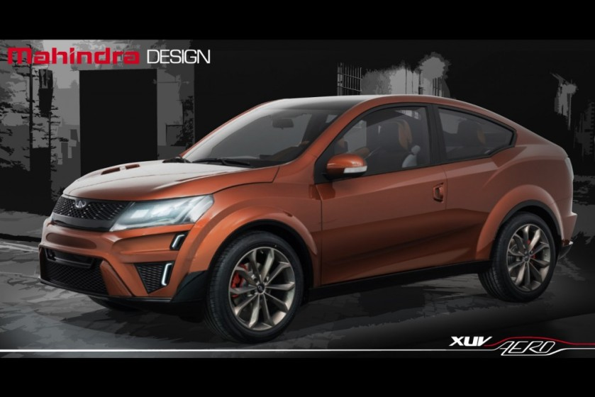 2016 XUV Aero is built with help from Pininfarina: source