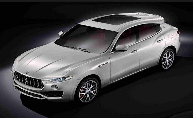 2016 Maserati Levante: source