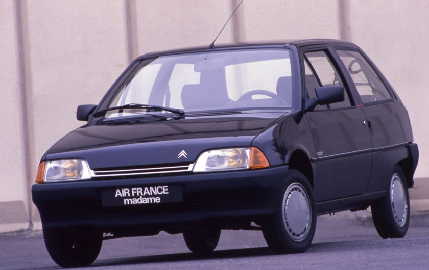 1988 Citroen AX Air France Madame. Image:Autovia