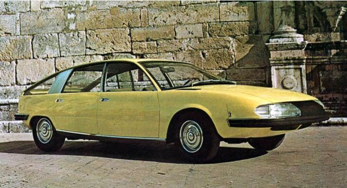 1967 Pininfarina Berlina Aerodynamica. Image: banovsky