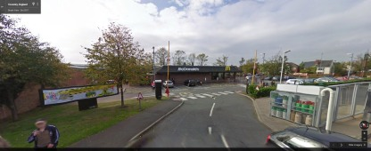 Coventry McDonalds image via Google