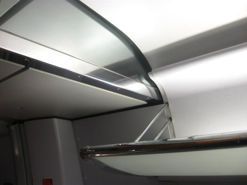 Detail: ICE train interior
