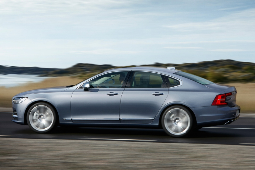 Volvo's forthcoming S90 saloon. Image: turbo.fr