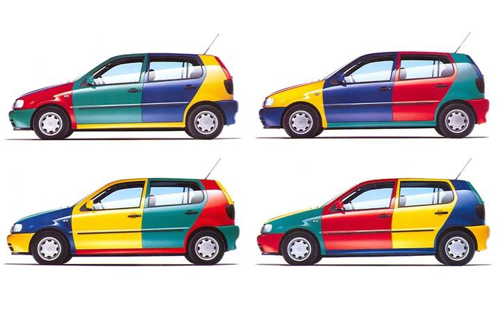 Volkswagen Polo Harlequin special edition. Image:Hooniverse