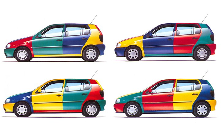 1997 vw polo colour concept driven to write. Black Bedroom Furniture Sets. Home Design Ideas