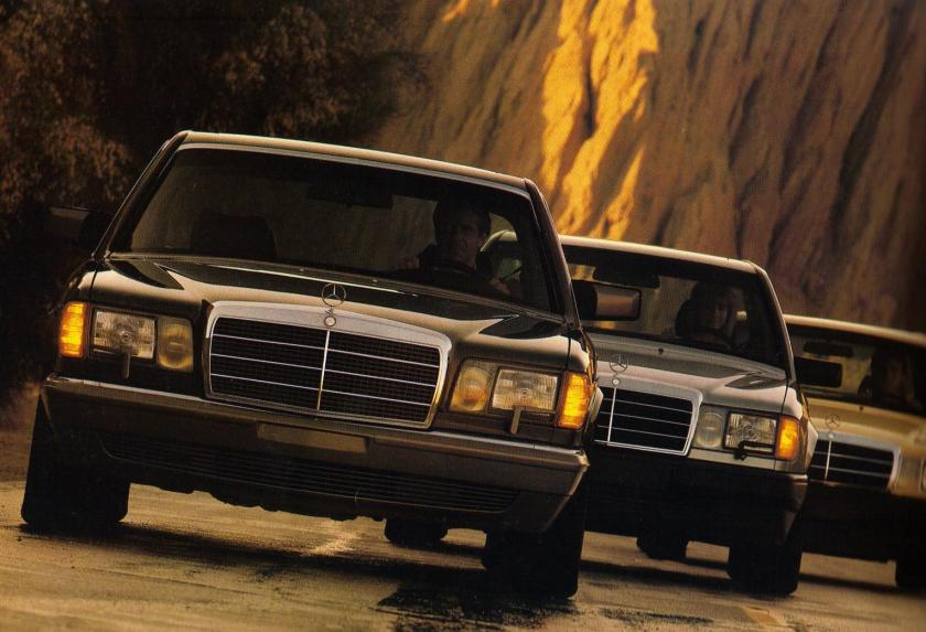 1980s-mercedes-benz-lineup