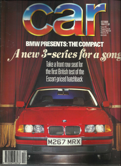 """Car"" magazine, October 1994."