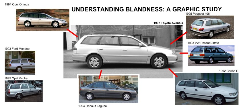 1997 Toyota Avensis design relations