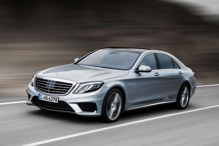 Mercedes-Benz S 63 AMG (W222) 2013: autoevolution.com