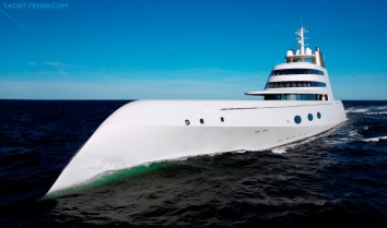 The Yacht 'A' - image : yacht-trend.com