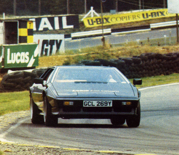 An early active ride Lotus Esprit prototype. Image:sportscars.tv