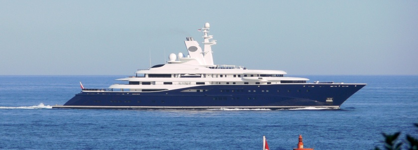 The Yacht Al Mirqab - image : liveyachting.com