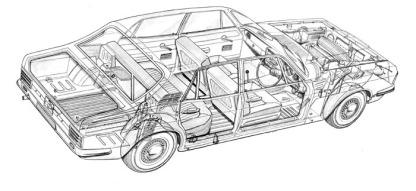 Ford Zodiac Mk IV - image : Ford Motor Company