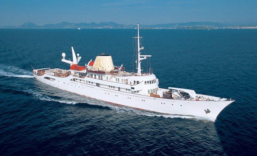 Christina O, once Aristotle Onassis's yacht - image : yachtmasters.com