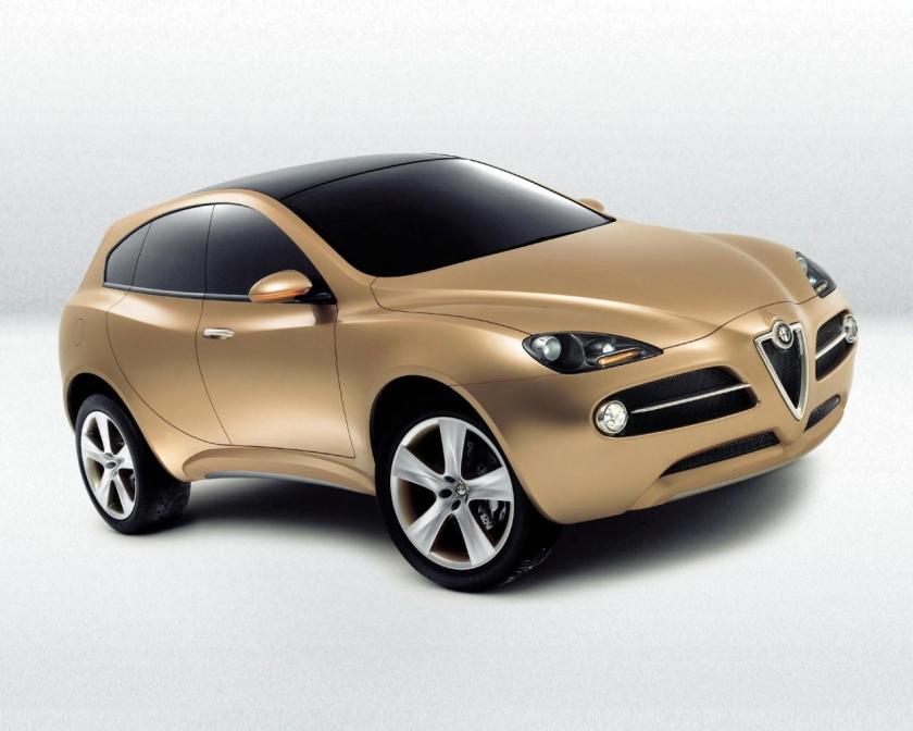 A good decade late to market. Alfa Romeo's Kamal concept. Image:digitaltrends