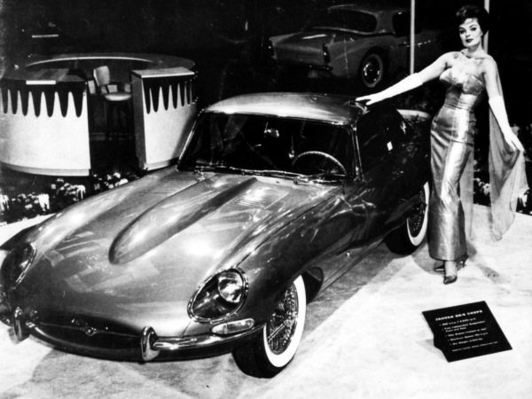 Jaguar E-Type at 1961 Geneva Salon