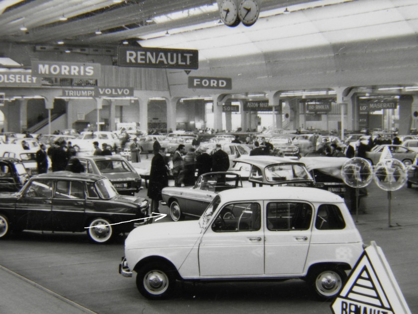 Renault Stand at Geneva Salon 1965