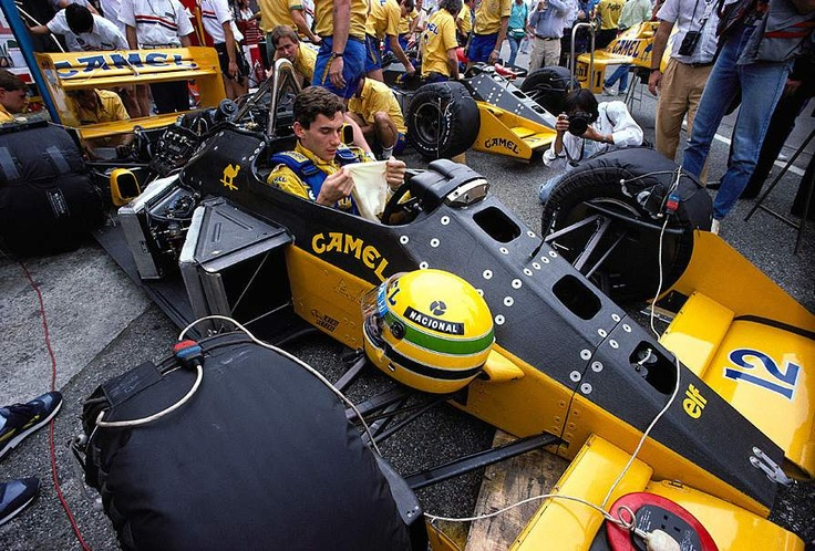 In 1987, the active supension Lotus 99T won three grands prix. Image:thejudge13