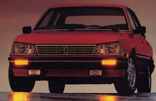 Peugeot had modest US success with the 505 model. Image:productioncars