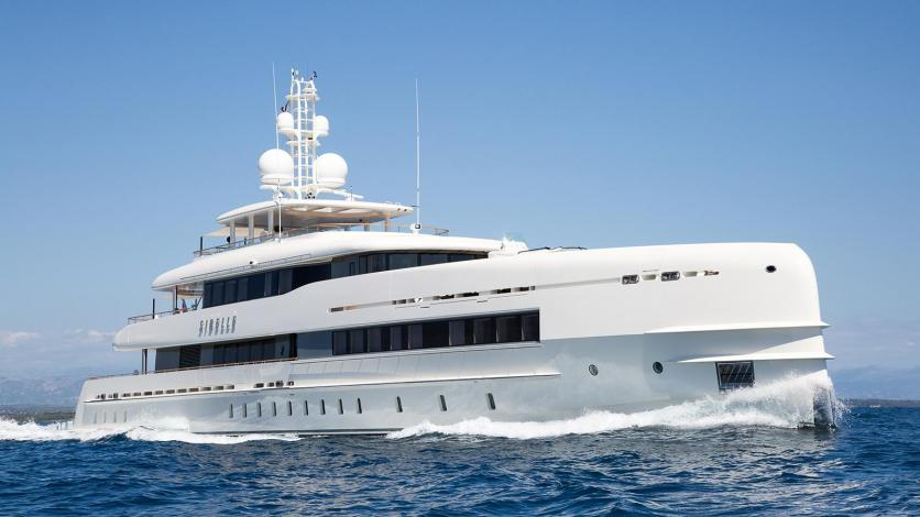 The Yacht Sibelle - image : boatinternational.com
