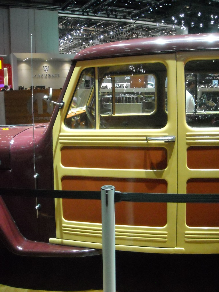 Geneva Bites Origin Of The Suv Species Driven To Write 1941 Willys Jeep Station Wagon Image Autovia Media