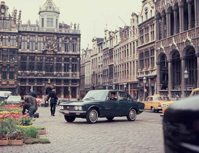 1966 Mazda Luce in Brussels: source