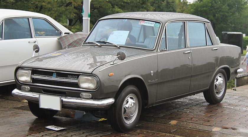 1967_Isuzu_Bellett_1500_Deluxe_B-Type