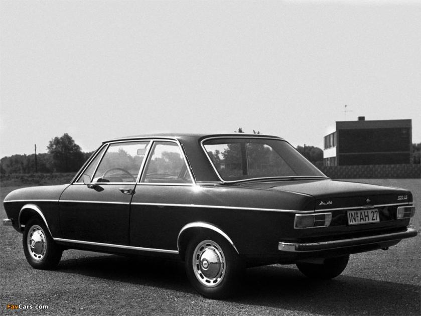 1968 Audi 100 two-door saloon: source