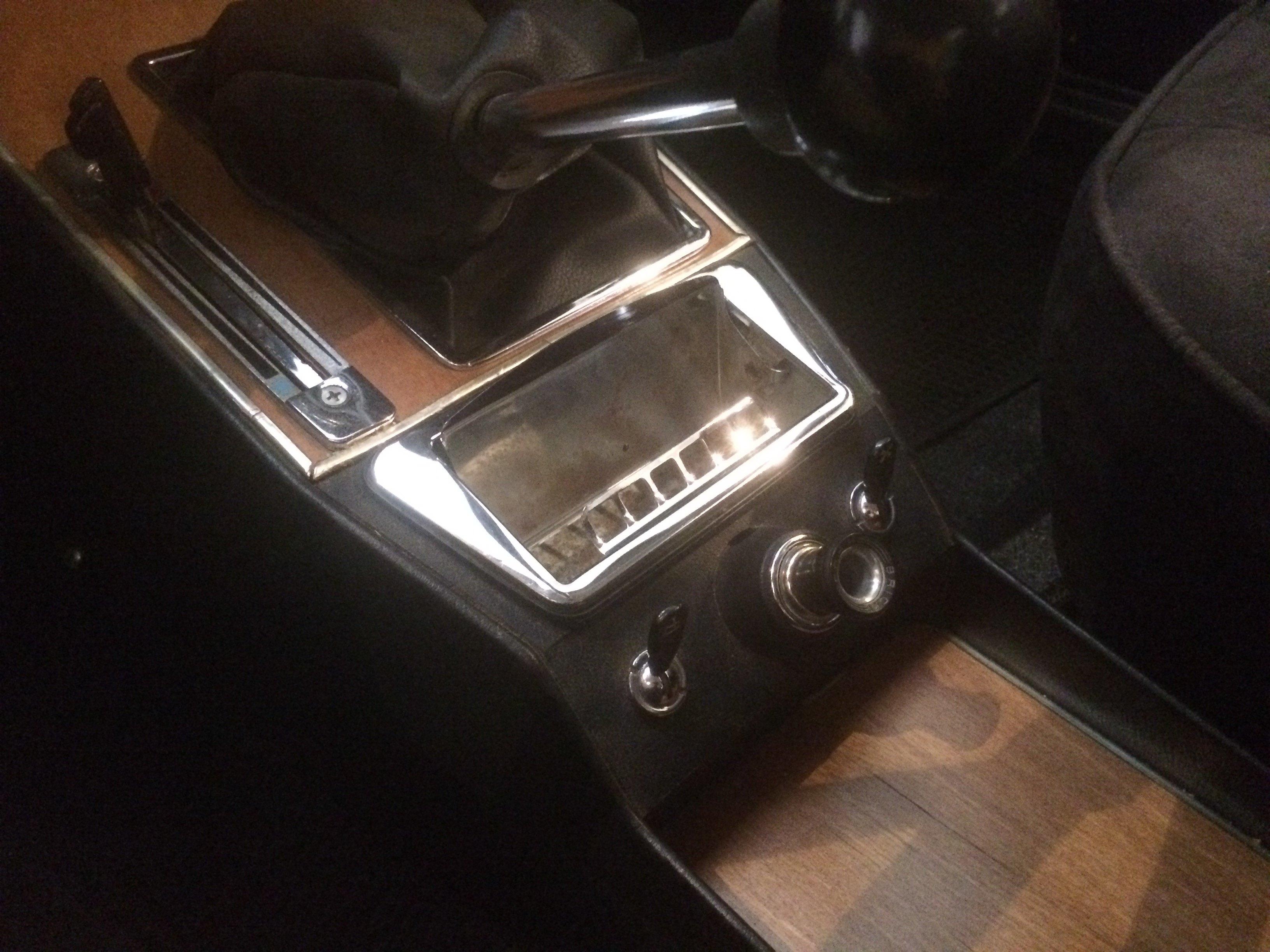 Ashtrays 1973 Alfa Romeo 2000 Driven To Write Steering Box Open