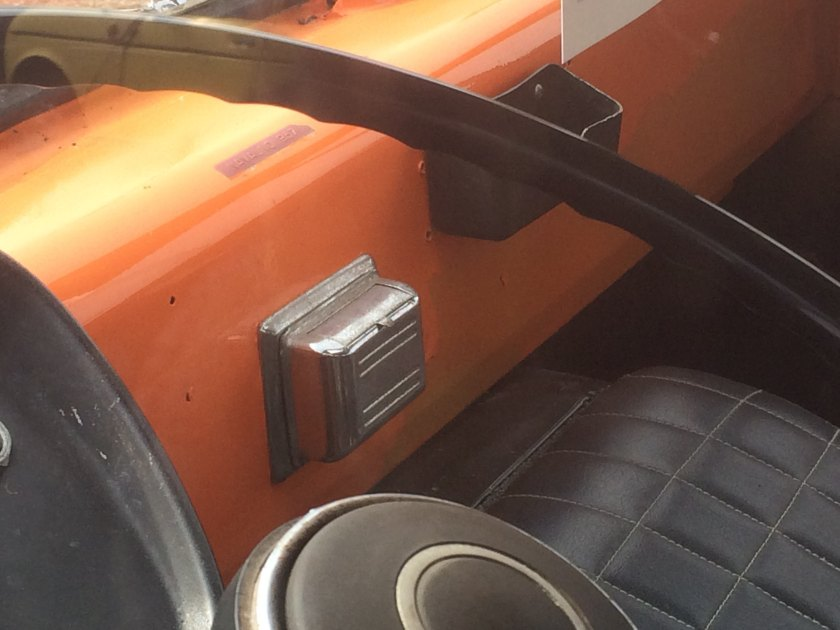 1974 Renault Estafette ashtray