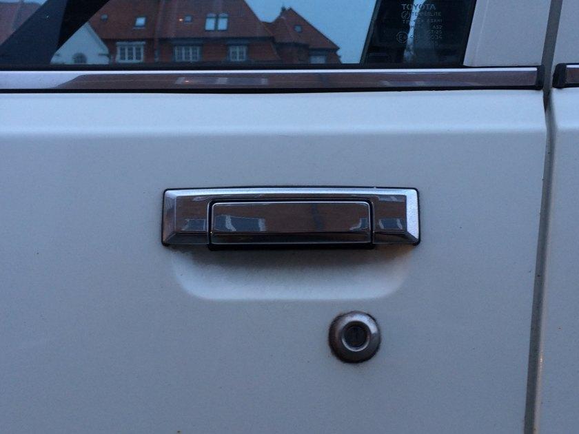 1982 Toyota Camry 8 Door Handle Driven To Write