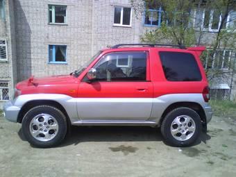 1999 Mitsubishi Pajero TR4: source