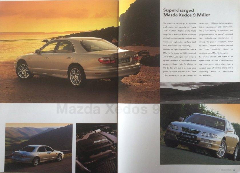 2001 Mazda Xedos 9 Miller