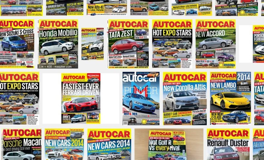 Lots of copies of Autocar: source