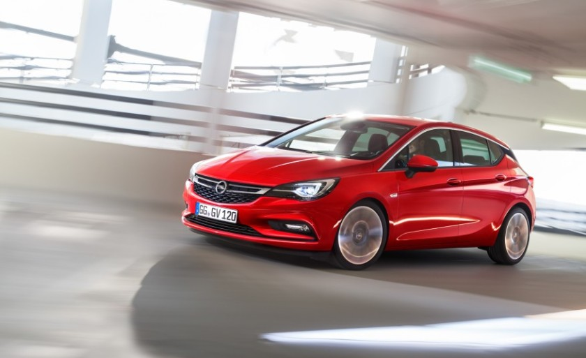 2015 Opel Astra - no sign of heritage but still an Astra- source