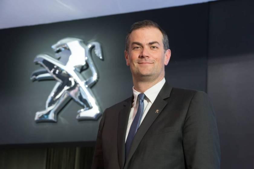 Peugeot CEO, Maxime Picat. Image:lepoint.fr