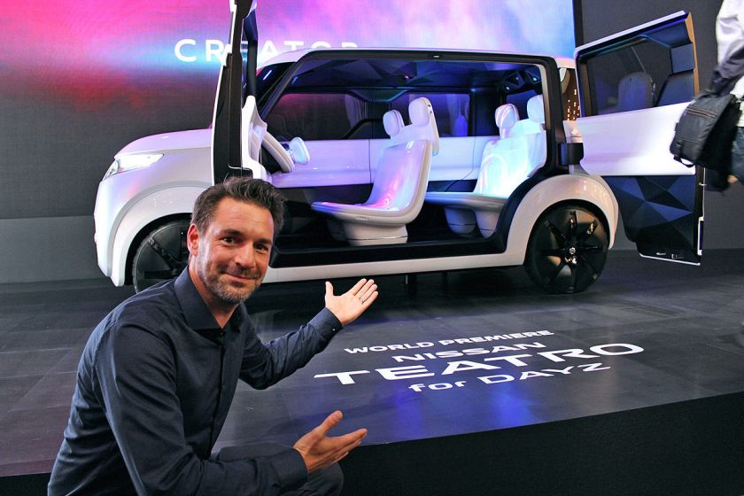 Open the pod bay doors, Hal : Nissan show us a future with Teatro For Dayz image : autobild.de