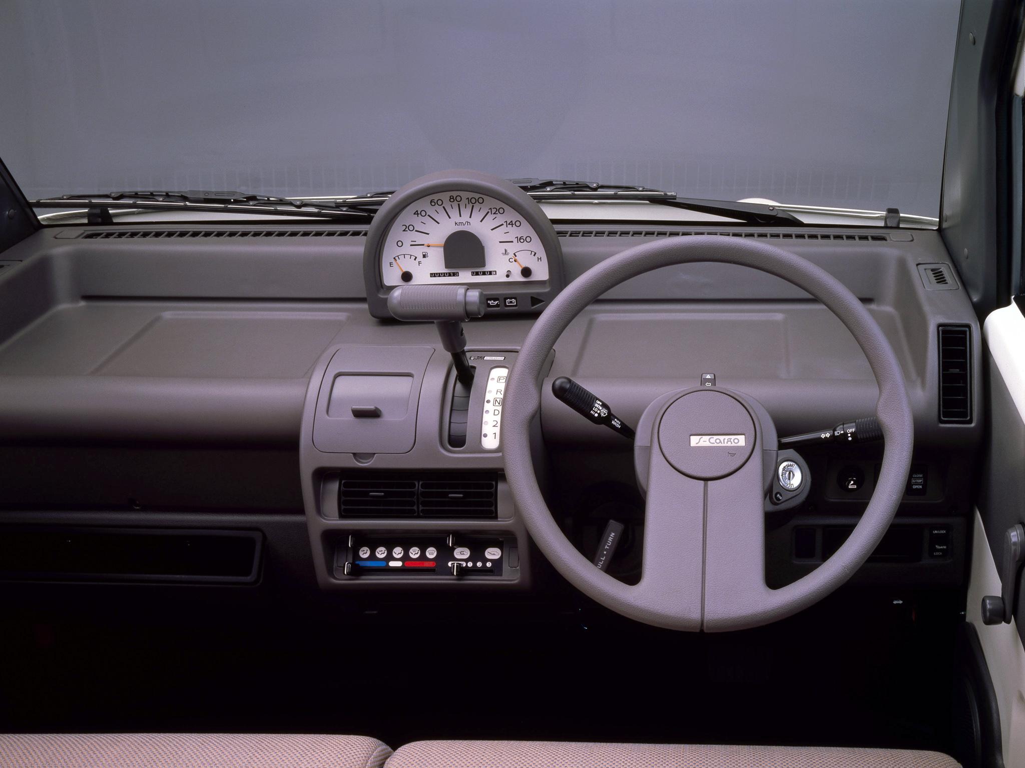 1989 nissan s cargo interior
