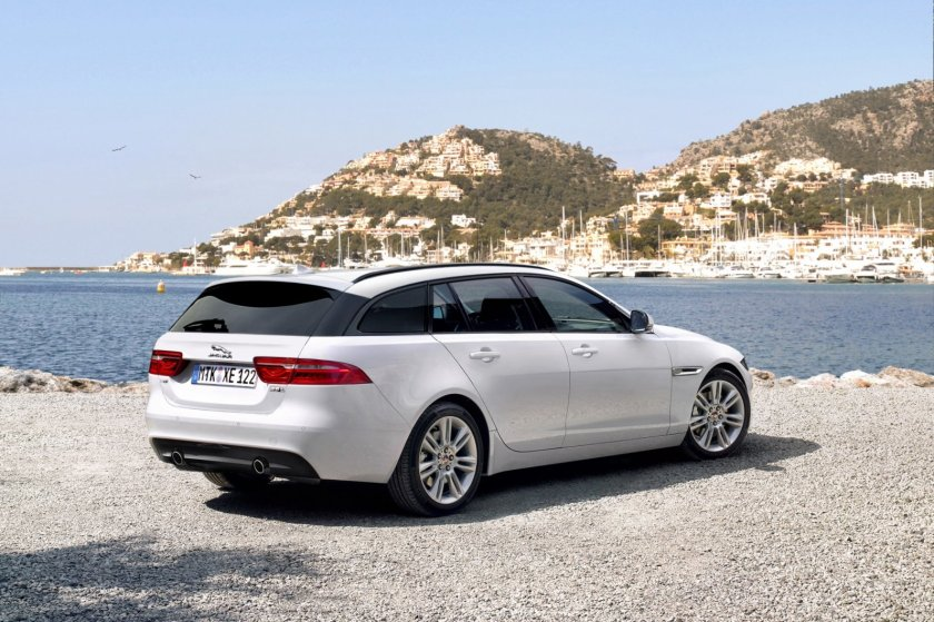 A speculative render of the XE in Sportbrake form. Image:autowereld