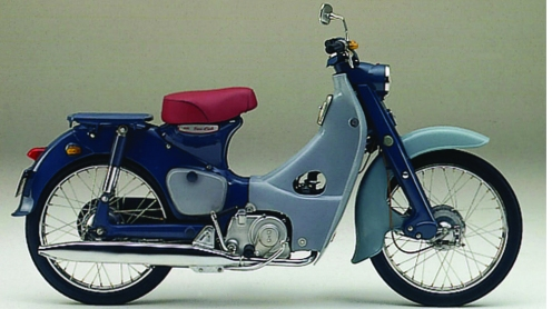 1958 Honda Super Cub - image : dreammagazine.co.uk