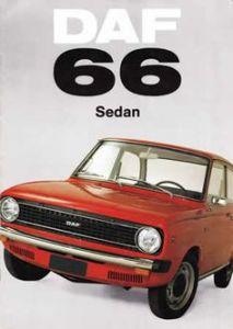 1972 Daf 66 brochure