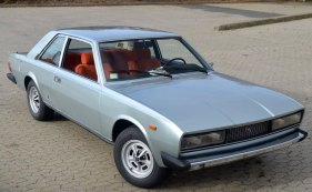 1972 Fiat 130 coupe exterior: source