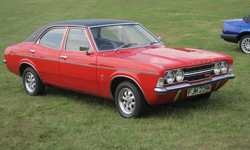 1972 Ford Cortina: wikipedia.org