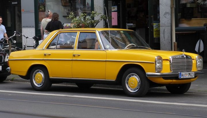 1974 Mercedes Benz 220 in Cologne: Pinterest