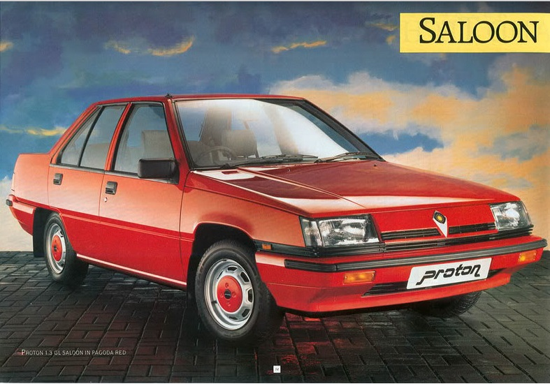 Proton Saga - image : malaysiazine.blogspot.co.uk