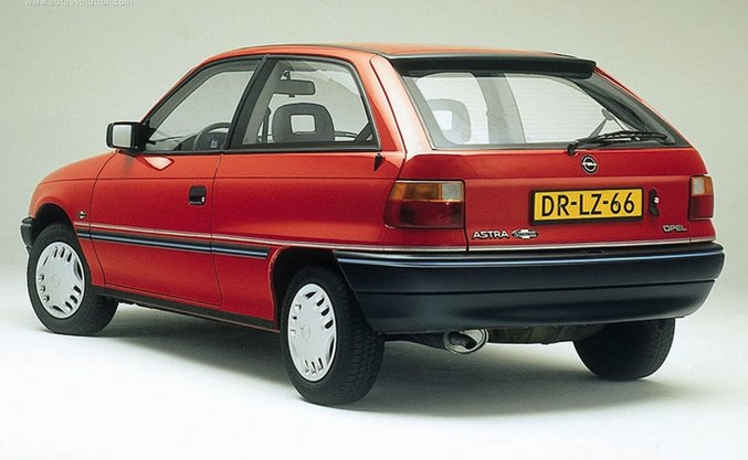 1991 Opel Astra: source
