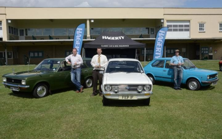Prizewinners at the 2015 Festival of the Unexceptional - image : telegraph.co.uk