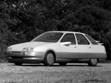 Ford Probe iii concept - image : oldconceptcars.com