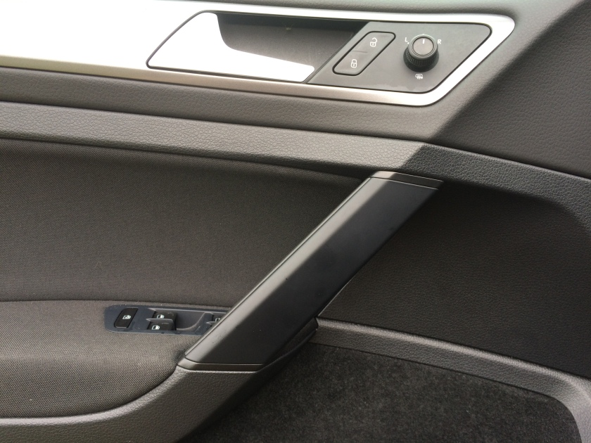 2016 VW Golf front interior door-handle.